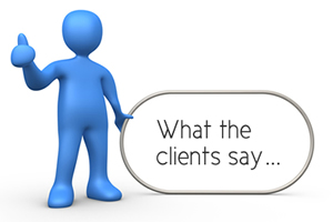 What our clients are saying.